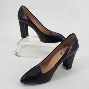 Tod's Black High Heels Size 41 Leather